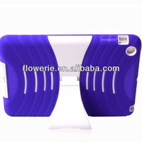 FL2991 2013 Guangzhou wholesale soft silicone combo case for ipad mini