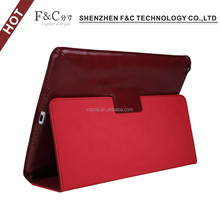 For ipad air 2 genuine leather stand case