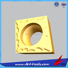VKT high quality hot sale CCMT09T304-TF carbide inserts CNC