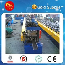 Corrugated Steel Plate Door Frame Roll Forming Machine with CE , 3 Phase