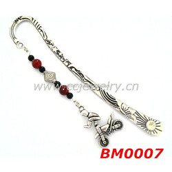 2015 china supplier new fancy bookmark hot motorcycle gifts for men