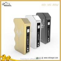 Support 0.1ohm atomizer VIC 80watt box mod e cig box mods uk