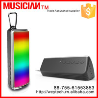 Newest Portable Mini Speaker S09 Support TF Card MP3 Phone LED Bluetooth Speaker with led Light
