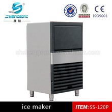2015 Model SS-120 ice cube machine maker price(CE ISO9001 BV)