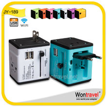 2014 Promotion Wontravel RoHS CE popular distributed universal socket year end gifts