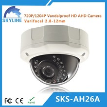 2015 vari-focal dome IR AHD CCTV Camera