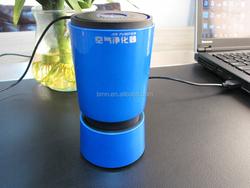 BMN909-5 Blue high quality negative ion air purifier car air freshener