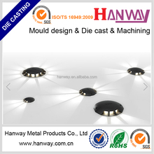 china manufacturer cnc machining parts aluminum die casting lighting fixture led housing for lamp cover