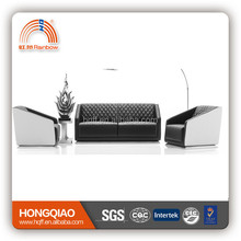 S-46 leather furniture high quality sofa set office furniture