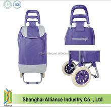 Travel Protable Light Weight Trolley Bag- Supermarket Shopping Cart Bag