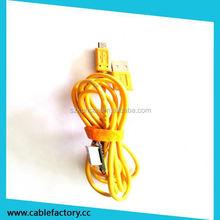 Shenzhen supplier kuncan novel design usb cable with led light
