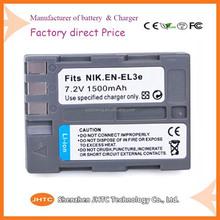 High quality cheap price camera battey pack standard batterys EN-EL3e li-on battery