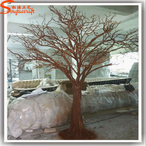 artificielle arbre non sans feuilles branches blanches. Black Bedroom Furniture Sets. Home Design Ideas