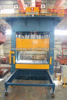 Sea containers roof corrugation making 1000 Ton Hydraulic Press Machine