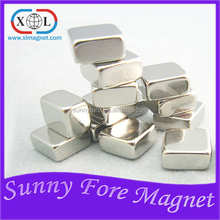 Quality first nickel copper nickel square magnet