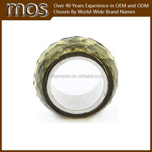 double color ring, black ring yellow ring America top selling jewelry