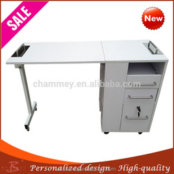 new wooden essence oil cosmetic table,wooden beauty manicure nail table customized