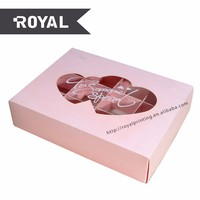 engagement paper gift box packaging box