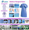 Leboo surgical gown for hospital