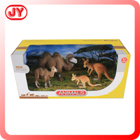 2015 new simulation zoo animal set toy for kids play