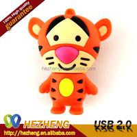 16GB Pendrive Cartoon Tiger USB Flash Memory