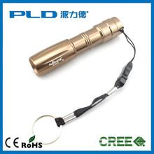 AA dry battery customer logo CE 1 watt promotion mini led flashlight