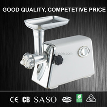 aluminium household meat grinder for home use