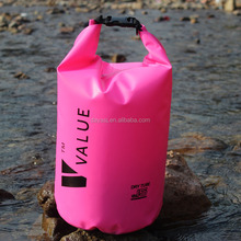Chinese factory custom logo waterproof dry bag for outdoor camping hiking