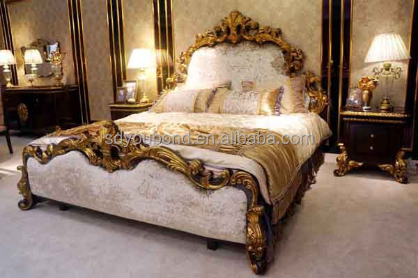 0063 2014 Solid Wood King Size High Quality Classic Luxury Italian Bedroom Furniture Set View