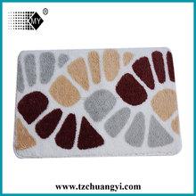 50*80 printed mat/ machine washable mat
