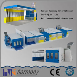 2015 Yantai Harmony New Products Natural Gas Curtain Spray Booth for sale