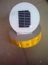 Factory outlet solar LED traffic light poles 140mm column head light