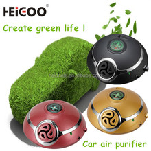 2015 Portable and smart lovely fast purifying car air purifiers