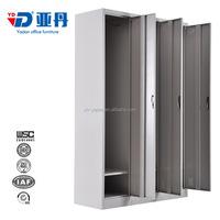 executive modern three door steel metal file cabinet in France market