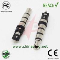 Professional manufacturer male 3.5 mm plug 4 pole connector