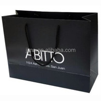 Foldable offset printing 180g C2S art paper shopping bag,paper handbag,paper tote