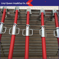Scaffolding Types And Names Push Pull Acrow Props Of Heavy Load Moving Equipment