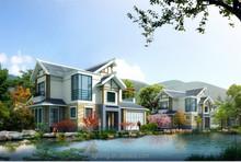 luxury prefab steel frame villa light steel villa design build