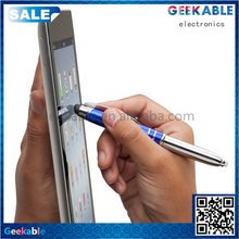 Durable hot sell palm 3in 1 stylus pen with rollerball pen