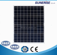 High quality pv panel Poly 50W home solar panel of factory direct sale made in China