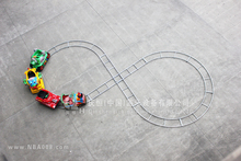 QHRT-02 Qingheng attractive eletric train set for kids