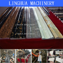 best price PVC Marble Panel extrusion line with cheap price