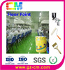 epoxy floor paint-acid resistant anti slip factory floor coating Plastic Shoes Factory floor paint