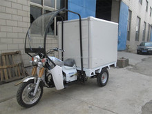 best sell 150CC 200CC cargo Tricycle With cooling box