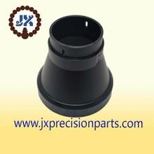 Jacksonville high quality aluminum alloy black hard anodic CNC processing custom parts
