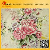 PW2014070801 bedding, pillow, quilting cotton flower digital printing fabric