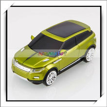 Hot Selling !! 2.4G Wireless Car Shaped Mouse Green -81008391