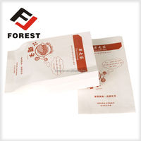 Paper packaging white paper gift bags and personalized lunch bags