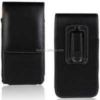 Fatory leather belt LOOP PU holster pouch case with Clip for Sony Xperia z4 plain line
