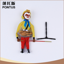 Specialized design Chinese story character wood puppet novelty gift